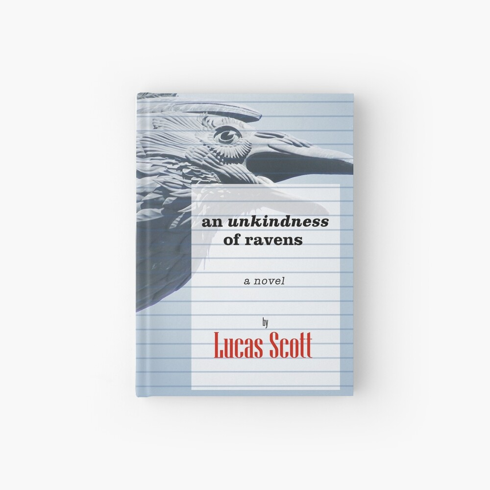 An Unkindness of Ravens Hardcover Journal