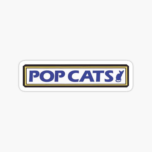 Vinilo para estuche de violín de Kaori - POP CATS Pegatina