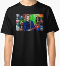 The Doctor of the Universe - The Silver Punk Classic T-Shirt