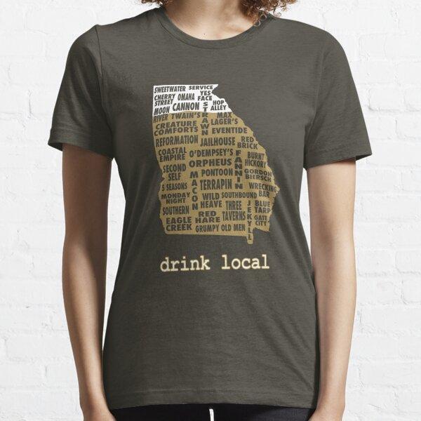 Drink Local - Georgia Beer Shirt Essential T-Shirt