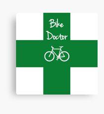 The Bike Doctor Canvas Print