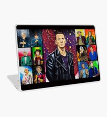 The Doctor of the Universe - The Survivor Laptop Skin