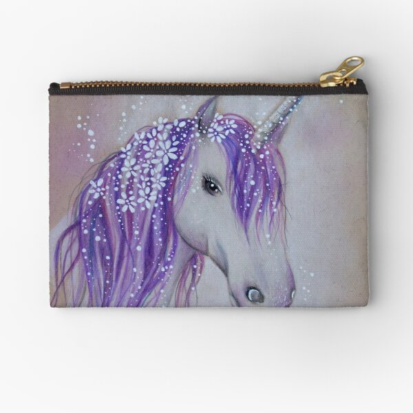 Lilac /& Lavander Magickal Accessory Zipper Pouch with T-Bottom