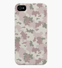 Light Pink Camouflage iPhone 4s/4 Case