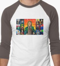 The Doctor of the Universe - The Romantic Men's Baseball ¾ T-Shirt