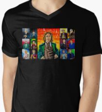 The Doctor of the Universe - The Romantic Men's V-Neck T-Shirt
