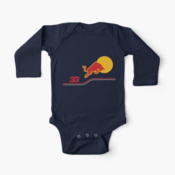 Verstappen f1 2021 Body de manga larga para bebé