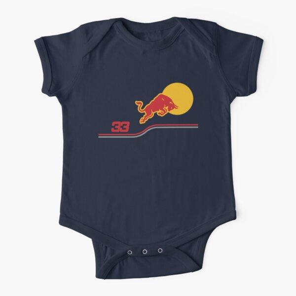 Verstappen f1 2021 Short Sleeve Baby One-Piece