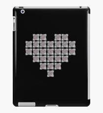 The cube is love, the cube is life -black- iPad Case/Skin