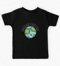 Earth Day Everyday  Kids Tee