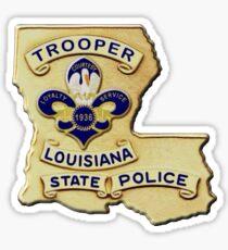 Louisiana State Police Sticker