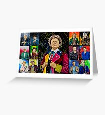 The Doctor of the Universe - The Dark Clown Greeting Card
