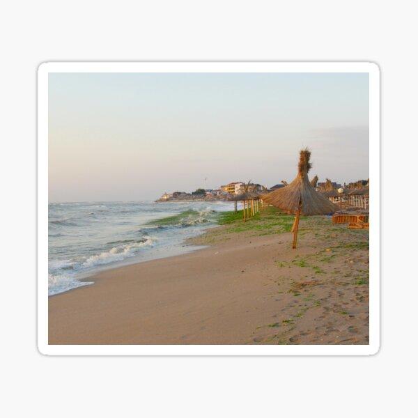 Bohemian Beach at sunrise Sticker