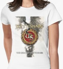Whitesnake The Greatest Hits Tour 2016 Women's Fitted T-Shirt