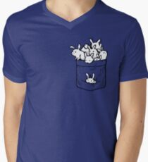 Bunnies! Men's V-Neck T-Shirt