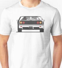 Ferrari F40 (rear) Unisex T-Shirt