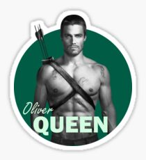 Oliver Queen - Arrow Sticker