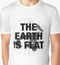 Flat earth, plane truth, reality Graphic T-Shirt