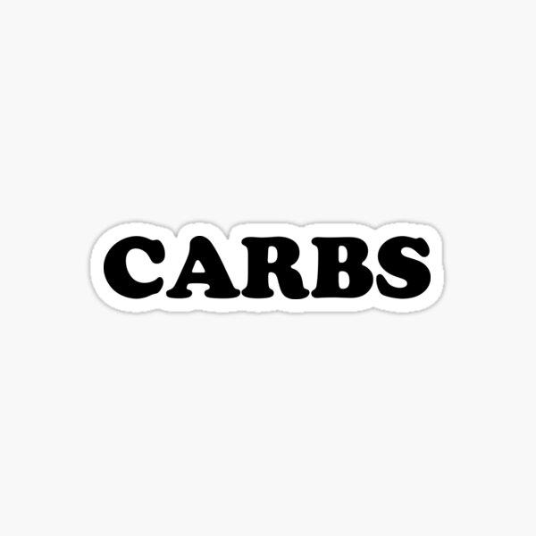 """CARBS"" Sticker"