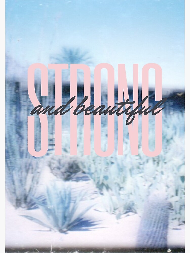 strong and beautiful by thejuliakitchen