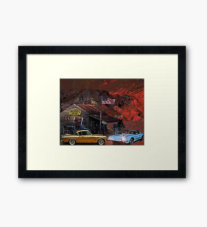Death Valley California, USA Framed Print