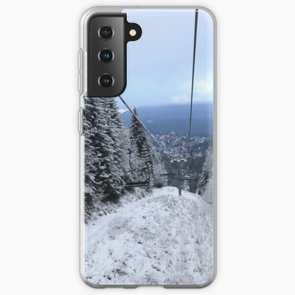 Winter on the ski slope Samsung Galaxy Soft Case