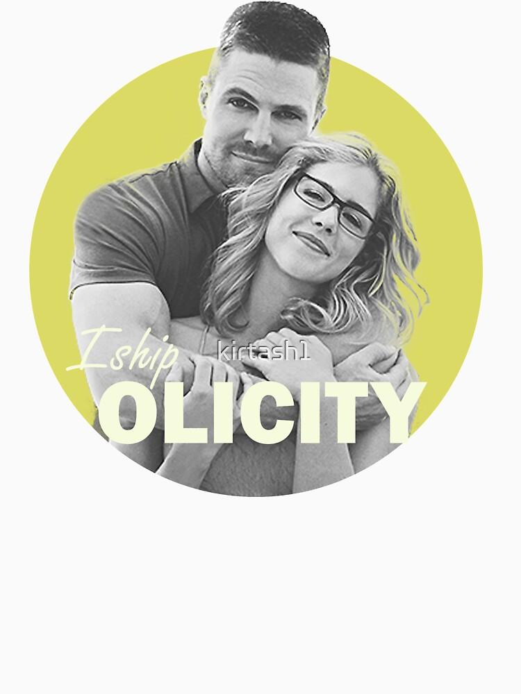 I Ship Olicity - Arrow by kirtash1