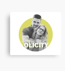 I Ship Olicity - Arrow Canvas Print