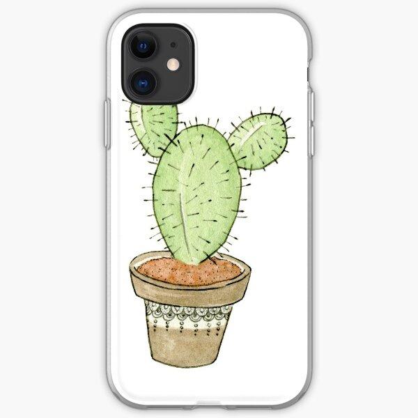 Mini Cactus iPhone Soft Case