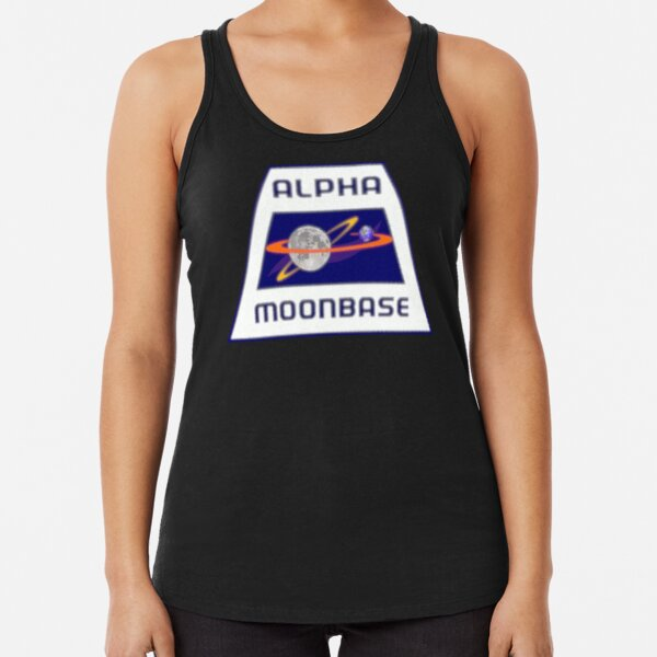 MOONBASE ALPHA Racerback Tank Top