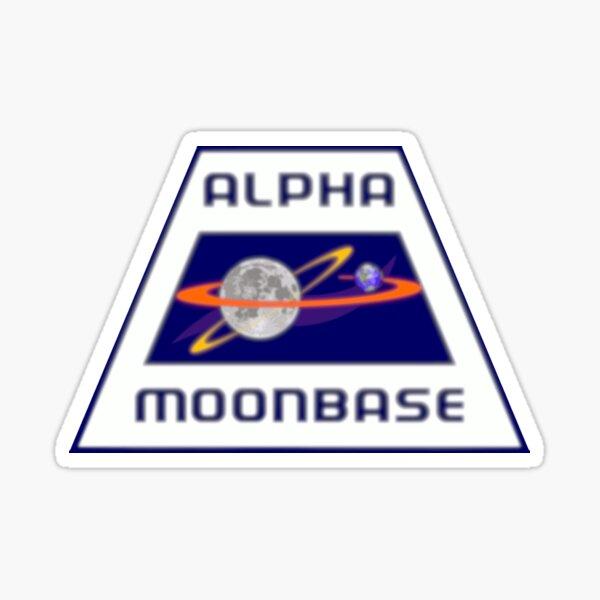 MOONBASE ALPHA Sticker