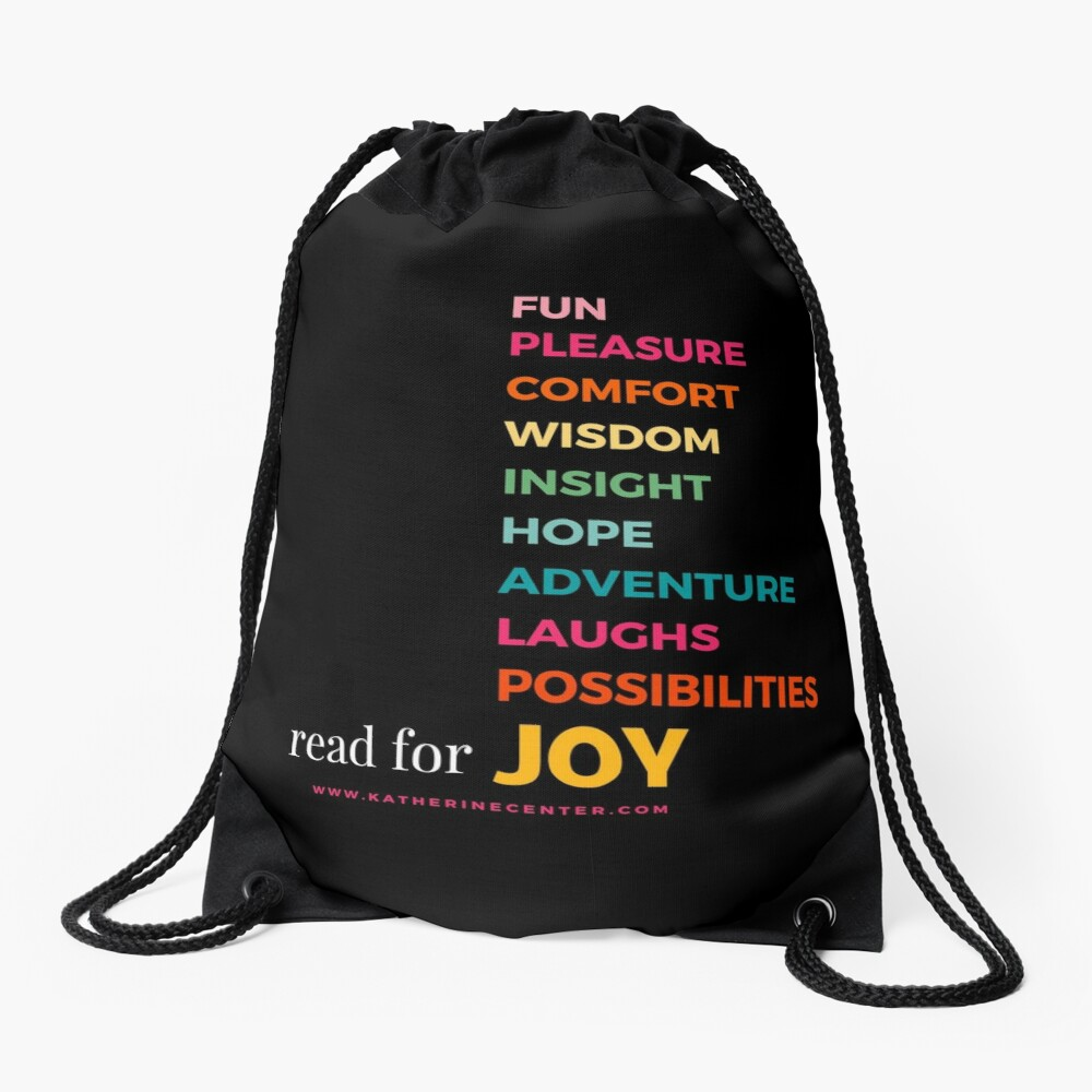 READ FOR EVERYTHING Drawstring Bag