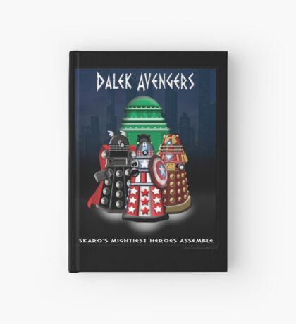 Marvel at the Su-WHO-per-heroes Hardcover Journal
