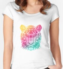 Warm Tiger Women's Fitted Scoop T-Shirt