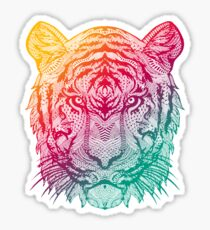 Warm Tiger Sticker