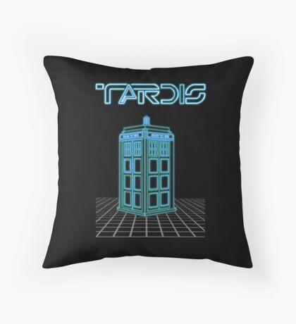 Retro Arcade Film Box  Throw Pillow