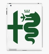 Green Alfa Romeo of Birmingham iPad Case/Skin