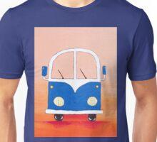 Blue bus Unisex T-Shirt