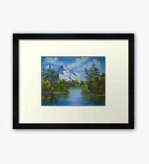 #9 Framed Print