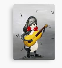 New song Canvas Print
