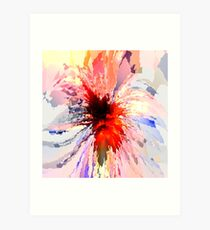 Abstract composition 371 Art Print
