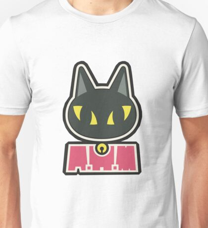 Kaori's Violin case sticker - BLACK CAT Unisex T-Shirt