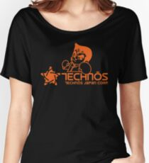 Technos Japan Kunio Women's Relaxed Fit T-Shirt