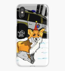 Fox n cops iPhone Case/Skin