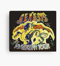 Genesis TOUR Canvas Print
