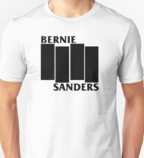 Bernie Sanders Black Flag T-Shirt