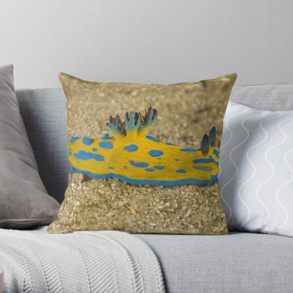 Nudibranch - Tambja verconis Throw Pillow