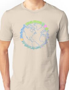 Think Green World Unisex T-Shirt