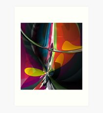 Abstract composition 404 Art Print