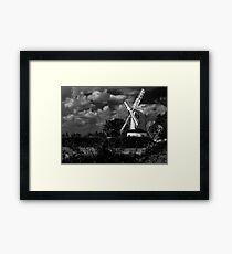 Saxtead Mill, Suffolk, England Framed Print